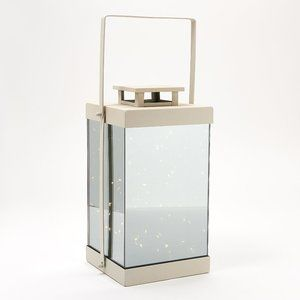 LED Microlights Mirrored Lantern